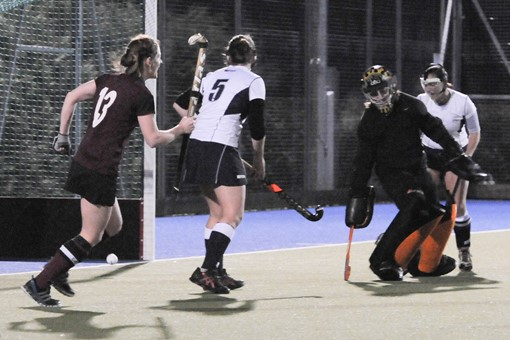 Ladies' 1s v Barnes 012
