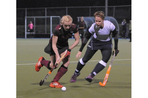Ladies' 1s v Barnes 015