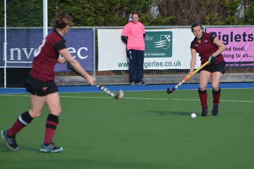 Ladies' 1s v Exe 004