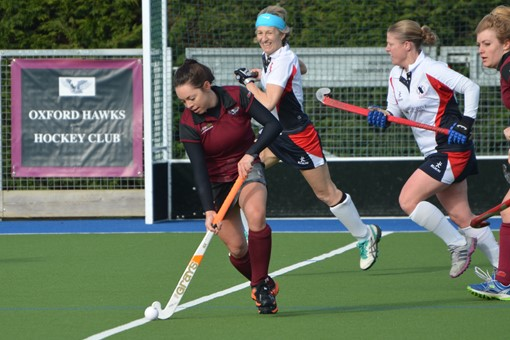 Ladies' 1s v Exe 007