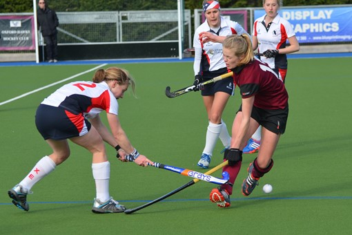 Ladies' 1s v Exe 008