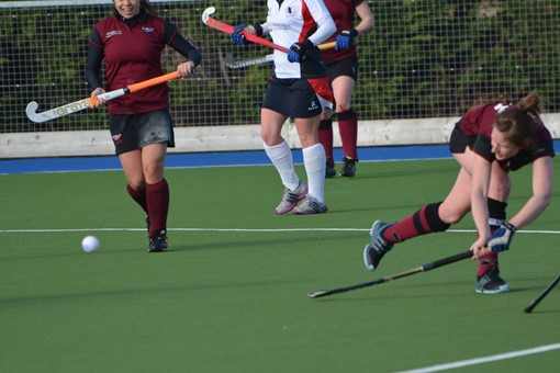 Ladies' 1s v Exe 012