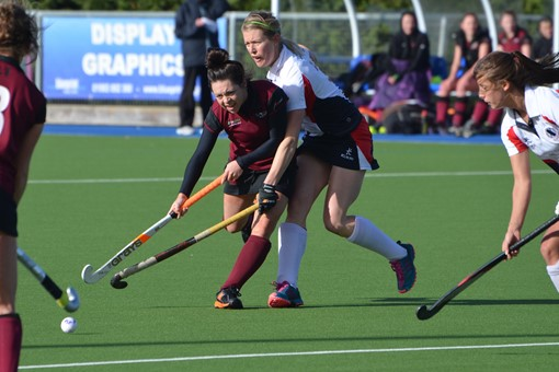 Ladies' 1s v Exe 017
