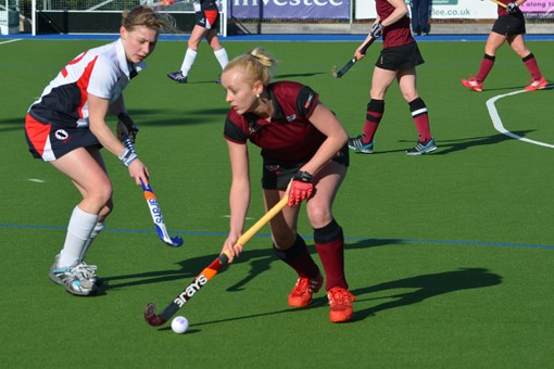 Ladies' 1s v Exe 020