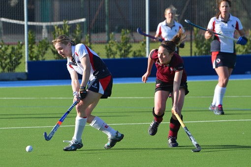 Ladies' 1s v Exe 022