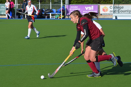 Ladies' 1s v Exe 023