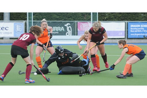 Ladies' 1s v Swansea 004