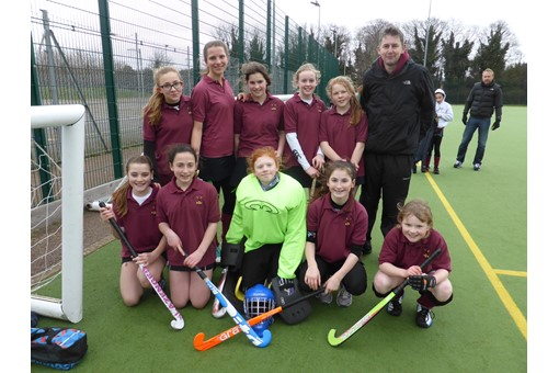 Under 12s at In2Hockey Banbury 1/3/14 001