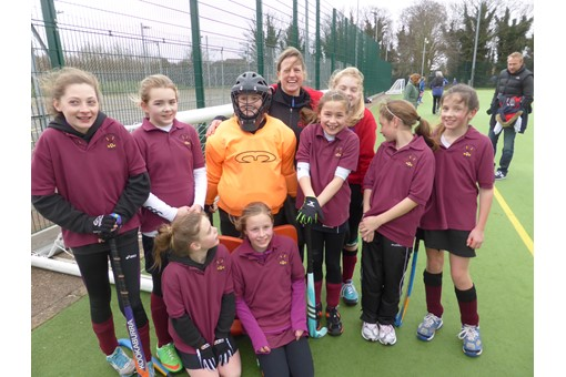 Under 12s at In2Hockey Banbury 1/3/14 002