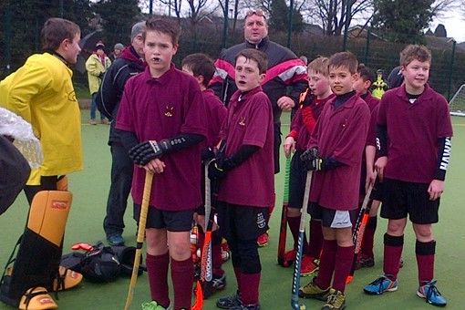 Under 12s at In2Hockey Banbury 1/3/14 006