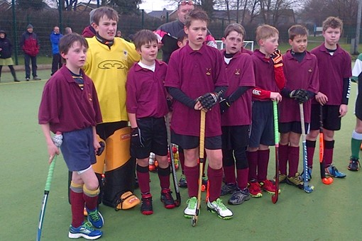 Under 12s at In2Hockey Banbury 1/3/14 007