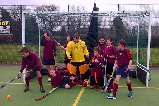Under 12s at In2Hockey Banbury 1/3/14 008