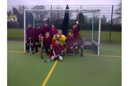 Under 12s at In2Hockey Banbury 1/3/14 010