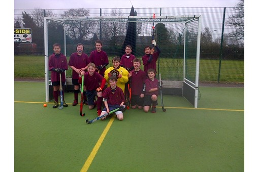 Under 12s at In2Hockey Banbury 1/3/14 011