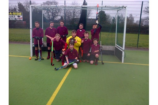 Under 12s at In2Hockey Banbury 1/3/14 012