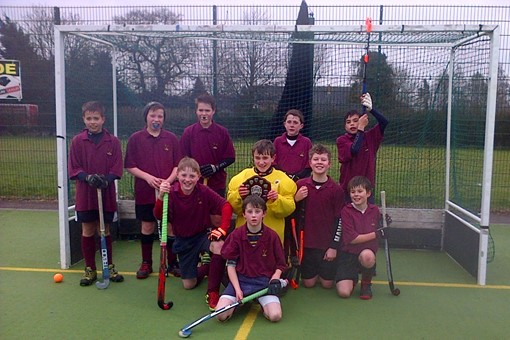 Under 12s at In2Hockey Banbury 1/3/14 013