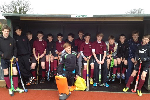 Boys U14 reach Hockey Cup Regional Knock 001