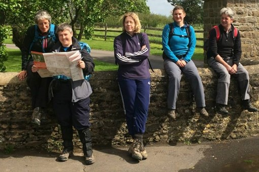 Hawks Walks 2014 - map reading 001