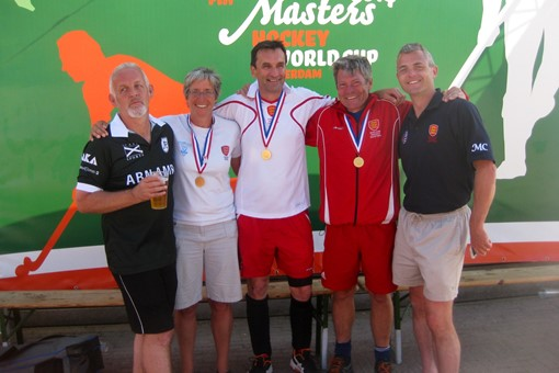 5 Hawks players at Rotterdam  June 2014 001