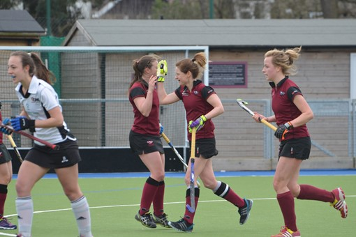 Ladies' 1s v Cheltenham 010