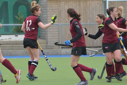 Ladies' 1s v Cheltenham 011