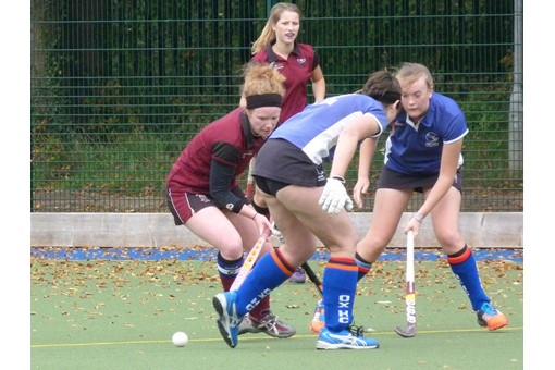 Ladies' 3 v Oxford 014