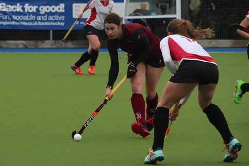 Ladies' 1s v Gloucester 012