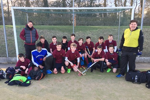 U16 Boys at Leicester February 2016 001