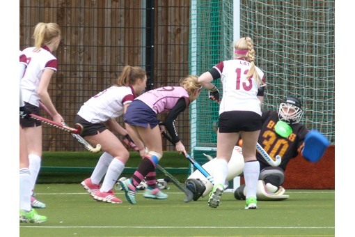 Ladies' 2s v Teddington 012