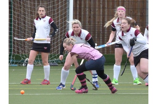Ladies' 2s v Teddington 019