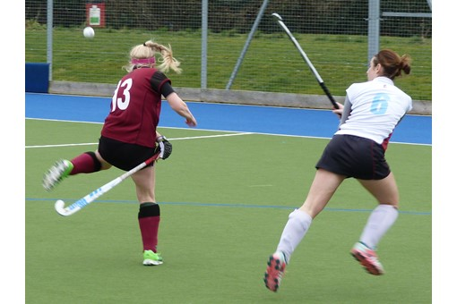 Ladies' 2s v Spencer 001