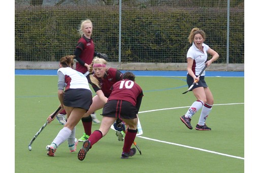 Ladies' 2s v Spencer 005