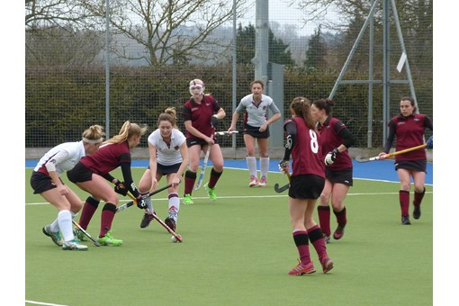 Ladies' 2s v Spencer 008