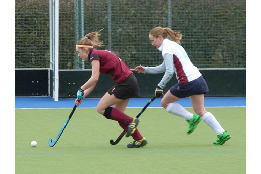Ladies' 2s v Spencer 011