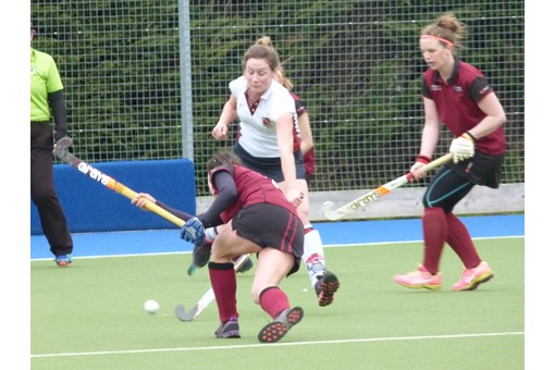Ladies' 2s v Spencer 013