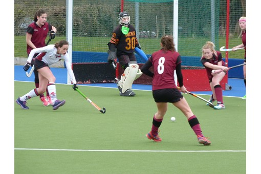 Ladies' 2s v Spencer 014