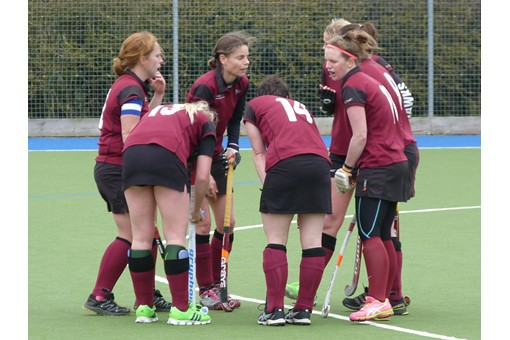 Ladies' 2s v Spencer 020