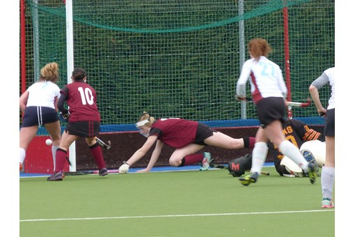 Ladies' 2s v Spencer 022