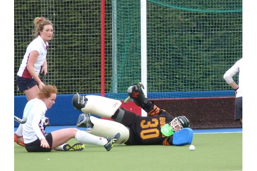 Ladies' 2s v Spencer 023