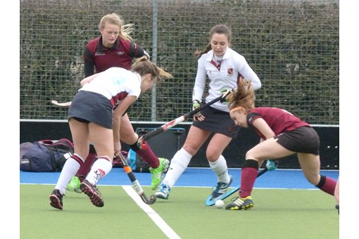 Ladies' 2s v Spencer 024