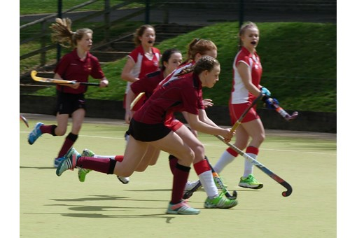 U14 Girls at Midlands Regional Finals 010