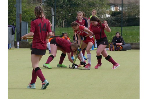 U14 Girls at Midlands Regional Finals 014