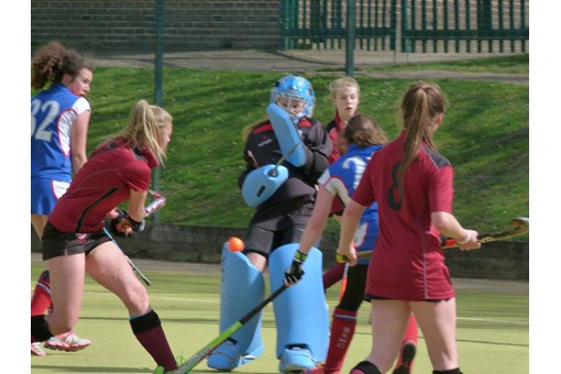 U14 Girls at Midlands Regional Finals 020