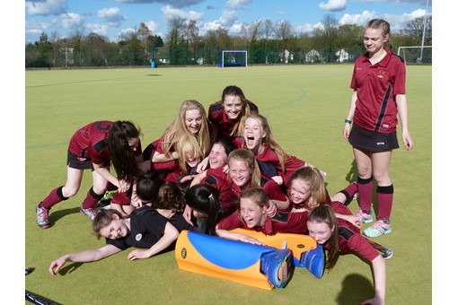 U14 Girls at Midlands Regional Finals 025