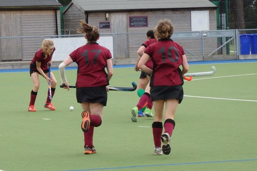 Ladies' 7s v Bicester 5s 1st league game 012