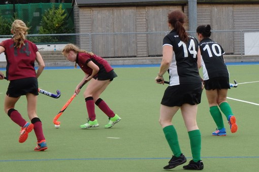 Ladies' 7s v Bicester 5s 1st league game 017
