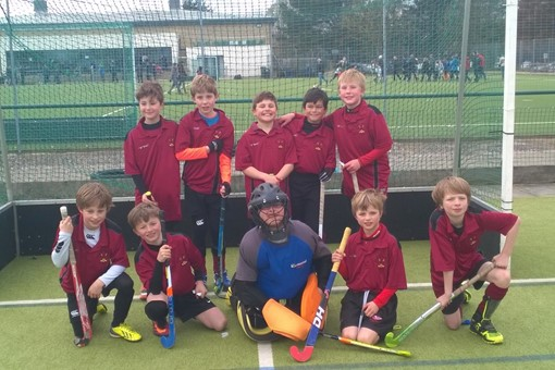U10 Boys at In2Hockey 003