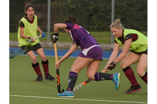 Ladies 1s v Loughborough in friendly 001