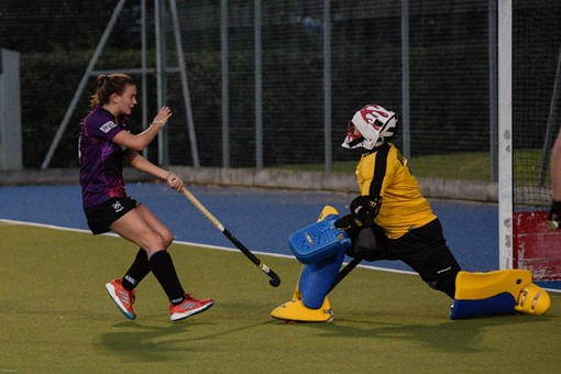 Ladies 1s v Loughborough in friendly 003