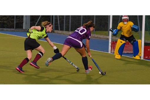 Ladies 1s v Loughborough in friendly 005